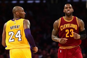 LeBron James signs a four-year deal with the Los Angeles Lakers