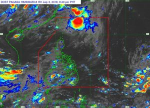 Parts of Luzon and Visayas Tropical Depression